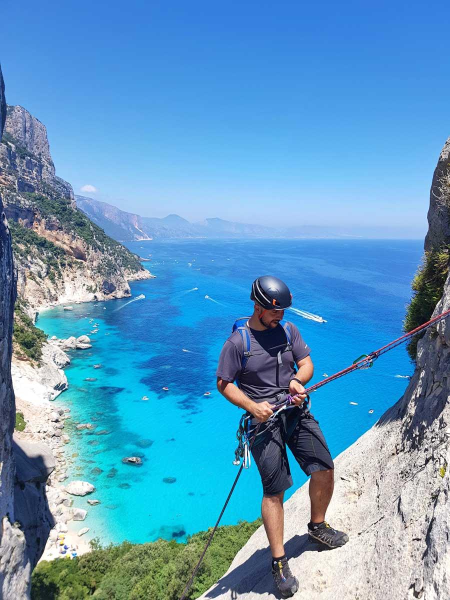 Climbing-Punta Caroddi-Goloritzè